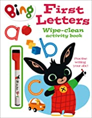 First Letters Wipe-clean activity book