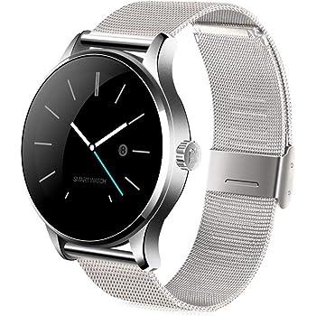 K88H Smart Watch Tracker Bluetooth Reloj Monitor de Ritmo cardíaco Deportes podómetro Marcación Smartwatch Teléfono para Android iOS