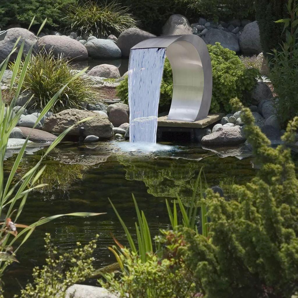 Binzhoueushopping Cascata Da Giardino In Acciaio Inossidabile