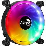 AeroCool SPECTRO12, Ventilateur PC 120mm RGB, Silencieux, Anti-Vibration, Molex