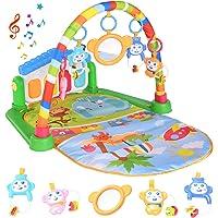 Tappetino da Gioco per Bambini, Attività Musicale Palestra Calcia e Suona il Pianoforte, Tappetino Neonato Giocattoli…