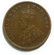 Coins & Stamps Bristish India Quarter Anna King George V 1936