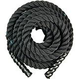 PROTONE Battle touwen/vechttouwen / 9 meter / voor thuis fitness/outdoor fitness/bootcamp/groepstraining/cross fit/gratis dra