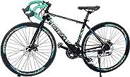 Aster Pc 660 Racing Bike - Black Green (26 Inch)
