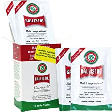 Ballistol Pflege-Tücher Box Universalöl 21950 10 St.