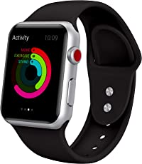 Yimzen Soft Silicone Band for Strap for Apple Watch Series 3/2/1