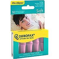 OHROPAX - Soft - Ohrstöpsel - 1x 10 Stück - Wiederverwendbare In-Ohr-Stöpsel aus Schaumstoff gegen schädlichen Lärm…