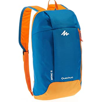 X-Sports Decathlon QUECHUA Kids Adults Outdoor Backpack Daypack Mini Small Bookbags10L (Blue &