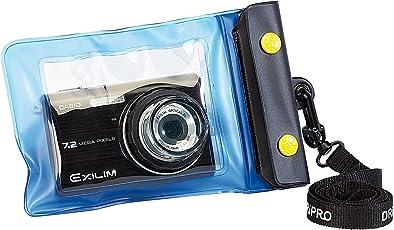 Somikon Unterwasser-Kamerahüllen: Unterwasser-Kameratasche S mit Objektivführung Ø 38 mm (Wasserdichte Kameratasche)