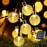 Solar String Lights Garden, OxyLED 30 LED Solar Fairy Lights Outdoor Solar String Lights Outdoor Garden Waterproof Crystal Ba