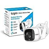 TP-Link TAPO C310 - Camara Vigilancia WiFi Exterior Interior,Resolución 3MP, IP66 con Visión Nocturna, Detección de Movimient