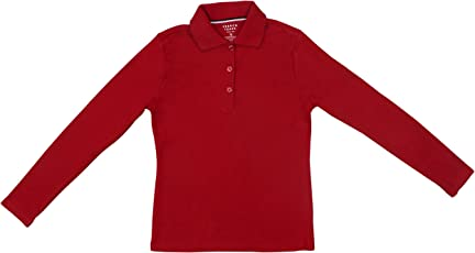 Hey It's Me Full Sleeves Classic Pain Cotton Red Color Stretchable Polo T-Shirt For Boys/Girls