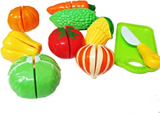 Gifts Online Realistic Sliceable Vegetables Cutting Play Toy Set With Velcr