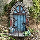 Prezents Décoration miniature en forme de porte d'elfe ou de fée pour arbre/jardin/maison Hauteur 9 cm