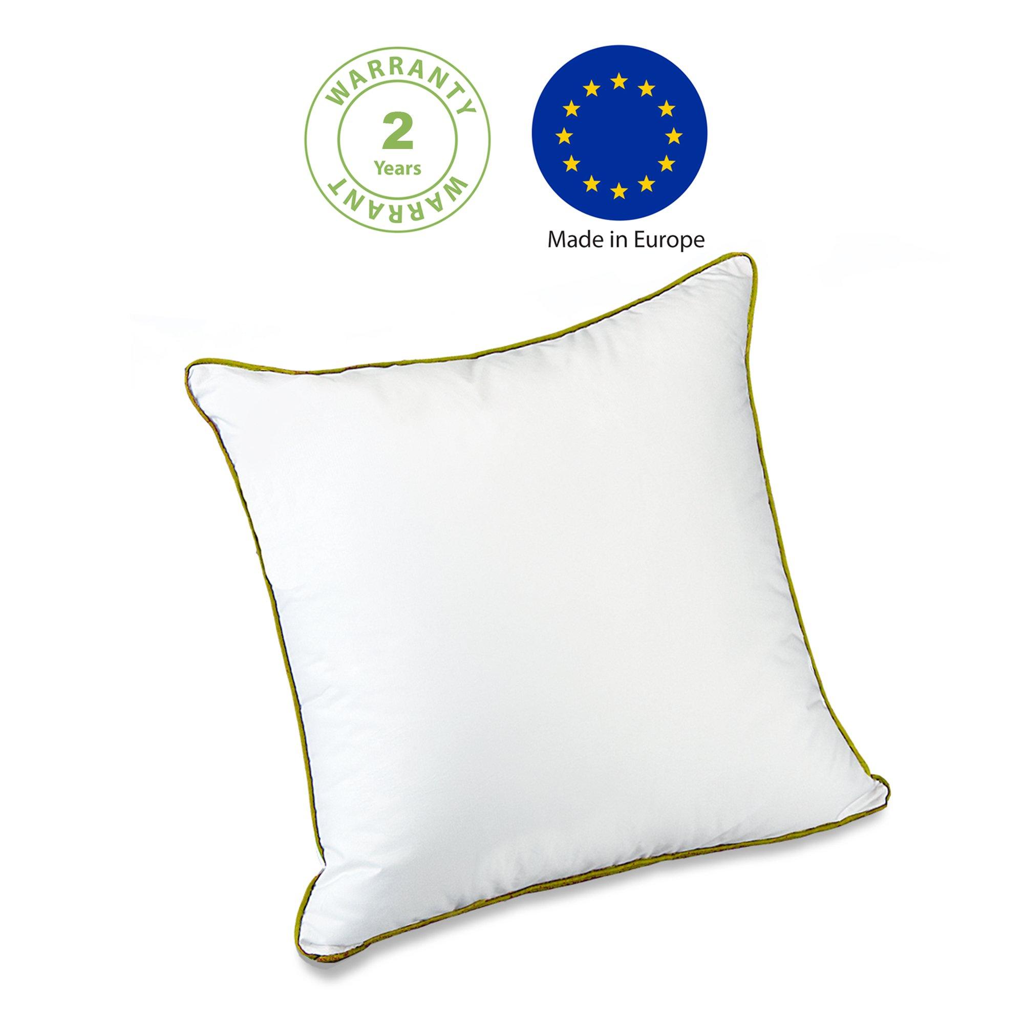 zenpur oreiller sensuel prime micro fibre meilleur que ceux des h tels 5 toiles 60x60cm. Black Bedroom Furniture Sets. Home Design Ideas