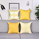 Alishomtll Geometric Pillowcases Cushion Covers 18x18 Inches Soft Plush Throw Pillow Covers 45cm x 45cm Polyester for Sofa Be