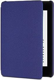 Funda Amazon de cuero para Kindle Paperwhite (10.ª generación - modelo de 2018), Morado