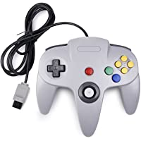 miadore Retro N 64 Bit N64 Controller,Wired Gamepad Controller Joystick for N64 Console N64 System,Gray