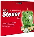 Lexware QuickSteuer 2020 für das Steuerjahr 2019|in frustfreier Verpackung|Einfache und schnelle Steuererklärungs…