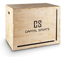 Capital Sports Shineater Jump Box Strong Edition – Plyo Box Box per saltare allenamento plyometrico, superfici levigate…