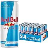 Red Bull Energy Drink, Sugar Free, 250 ml (24 pack)