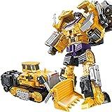 Waroomss Devastator, kreative Kombination Roboter Transformer Truck Transform Auto Spielzeug für Jungen, Erdiges Gelb