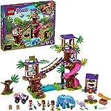 LEGO Friends Base di Soccorso Tropicale, Clinica Veterinaria con Mini Bamboline e Animali, Giocattoli per Bambini di 8 Anni,