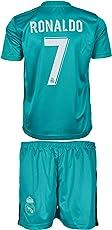 Real Madrid Ronaldo #7 2017/18 Heim/Auswärts Trikot und Shorts Kinder und Jugend Größe