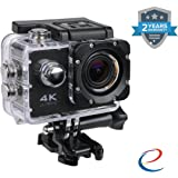 Wonderford Energic WiFi 4K Waterproof Sports Action Camera (Assorted Colour)