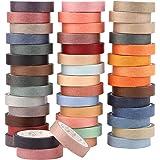 45 Rouleaux de Ruban Adhésifs, Washi Tape style japonais, arts plastiques et bricolage, embellir les journaux de balle, les p