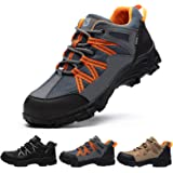 SUADEEX Safety Shoes Men Women Steel Toe Cap Trainers Mens Lightweight Breathable Industrial Safety Work Boots