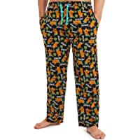 Scooby Doo Pyjamas for Men, 100% Cotton Mens Pyjamas Bottoms with Print of Scooby, Lounge Pants Mens with Elasticated…