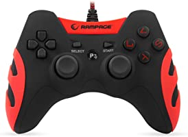 Snopy Rampage Sg-R218 Ps3/Pc X Input Kırmızı Usb 1.8M Joypad [Windows 10 ]