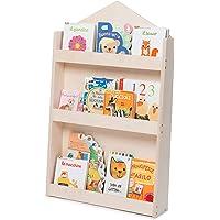 Dotty by moblì® |La bibliothèque Montessorienne pour Enfants en Bois Naturel | Etagères à 3 hauteurs| Positionnement…