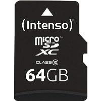 Intenso Micro SDXC 64GB Class 10 Speicherkarte inkl. SD-Adapter