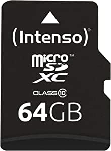 Intenso Micro Sdxc 64gb Class 10 Speicherkarte Inkl Sd Adapter
