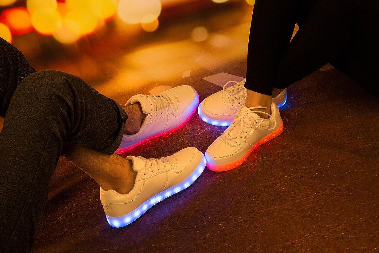 Leuchtende Schuhe