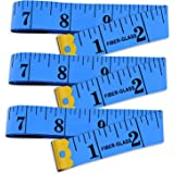 Yojoloin 3PCS 60 inches Double Scale Soft Tape Measure Flexible Ruler for Measuring Weight Loss Medical Body Measurement Sewi