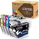 STAROVER Cartouches d'encre compatibles pour Brother LC3219 XL LC3217 pour Brother MFC-J5330DW MFC-J5335DW MFC-J5730DW MFC-J5