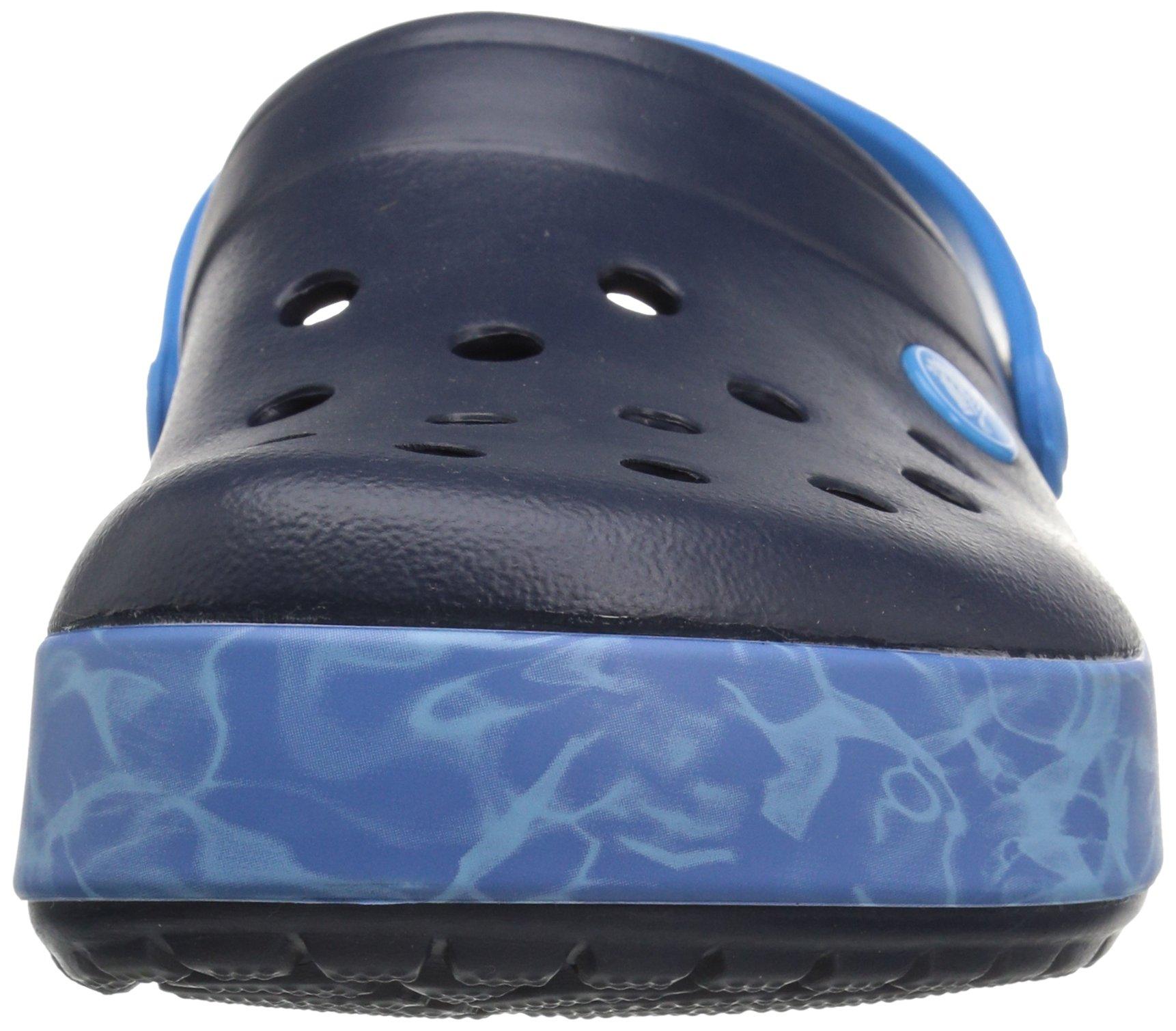 Crocs Crocband Graphic Clog, Zuecos Unisex Adulto