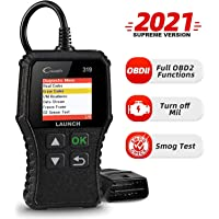 LAUNCH CR319 OBD2 Diagnosegerät OBD Fahrzeug Code-Scanner Fehlercodeleser unterstützt alle Autos mit OBDII/EOBD/CAN-Modi…