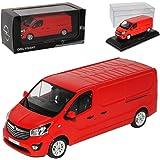 Opel Vivaro Bus Met Blau Grau Modellauto Fertigmodell Minichamps 1 43 Spielzeug