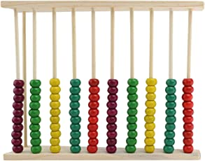 Classic Wooden Abacus Educational Toy for Kids Children Colorful