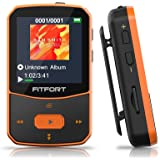 Reproductor MP3 Bluetooth 5.0 - MP3 Bluetooth Running, Sonido de Gama Alta, Radio FM, Grabación de Voz, E-Book, Podómetro, Pa