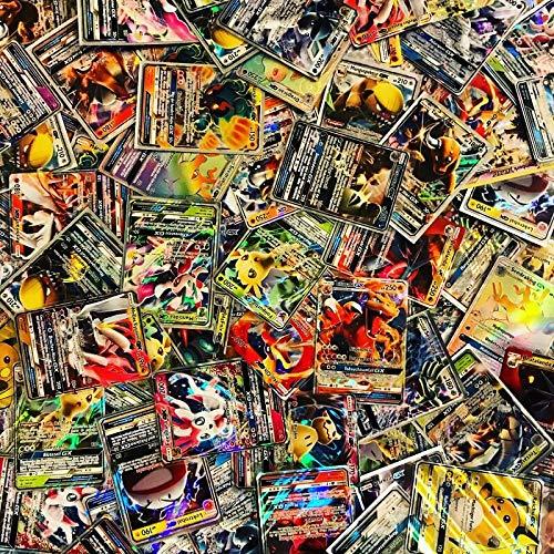 100 Pokemon Karten - 1 GX oder EX GARANTIERT - Deutsch - Boosterfrisch (Pokemon-karte 1.)