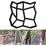 Stampo per Vialetto da Giardino Stampo per Cemento Forma per Selciato in Cemento o Pietra Pavimentazione Esterna Pietra Pavim