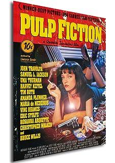 su Carta Lucida Fotografica LaMAGLIERIA Poster Alta qualit/à/ Pulp Fiction 30cmx40cm Grande Formato