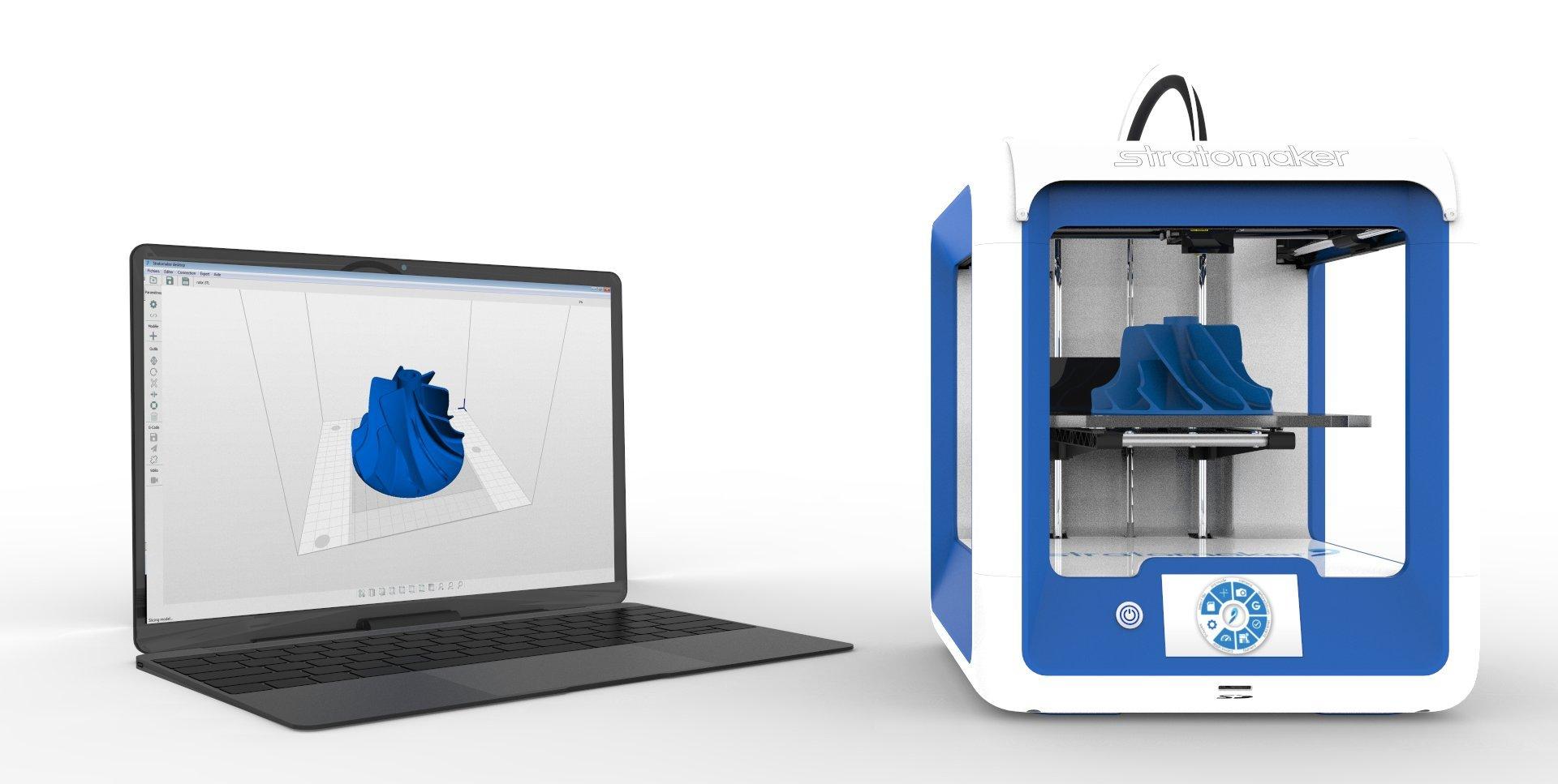 Stratomaker impresora 3D