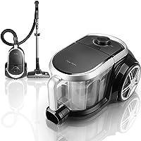 Taylor Swoden Katar - Aspirateur sans sac de 800W. Filtre Hepa, réservoir de 3L. Brosse pour tapis et sols, brosse pour…