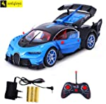 Zest 4 Toyz Bugatti Style Remote Control Rechargeable Car With Opening Doors - Assorted
